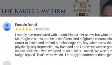 Kaigle Law 5 Star Rated Orlando Criminal Defense Attorney