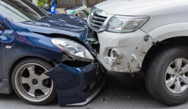 Bad car accident.