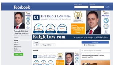 Orlando Criminal Defense Attorney Facebook